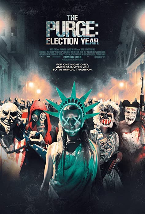 THE PURGE ELECTION YEAR MOVIE POSTER 2 Sided ORIGINAL FINAL 27x40 FRANK GRILLO