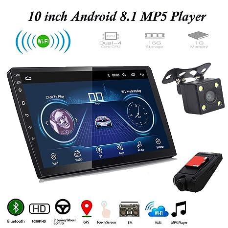 2019 Android 8.1 7/'/' Car Stereo Radio GPS Navi MP5 Player Wifi Bluetooth USB FM