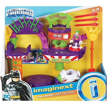 Imaginext - DC Super Friends Batman Fábrica de risas del ...