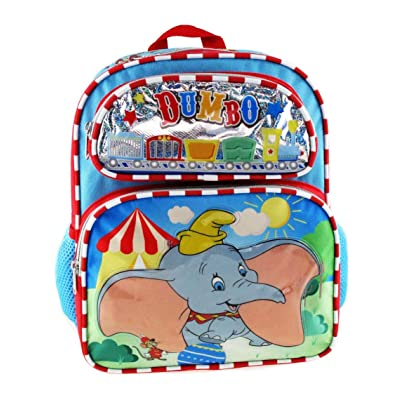 Dumbo 12 Inch Toddler Size Backpack - Circus A16926 | Kids' Backpacks