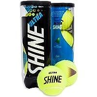 Shine Ultra all court tennis balls, Set of 3 balls per can (Professional ITF Approved Balls)
