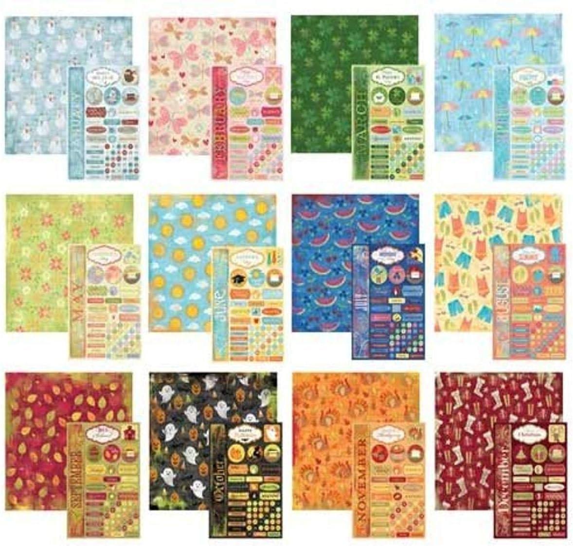 Karen Foster Design Scrapbook Calendar Creations Creative Kit