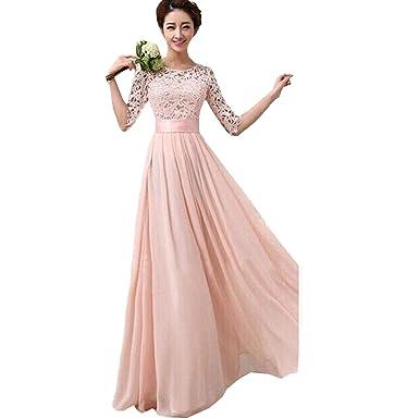 Kleid hochzeitsgast pink