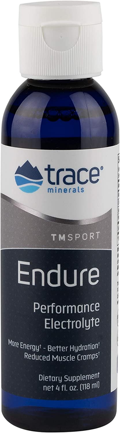 Trace Minerals Research , Endure, Performance Electrolyte, 4-Ounce Bottle: Health & Personal Care