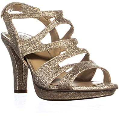 a7c4b103afc8 Naturalizer Womens Dianna Open Toe Special Occasion Strappy Sandals ...