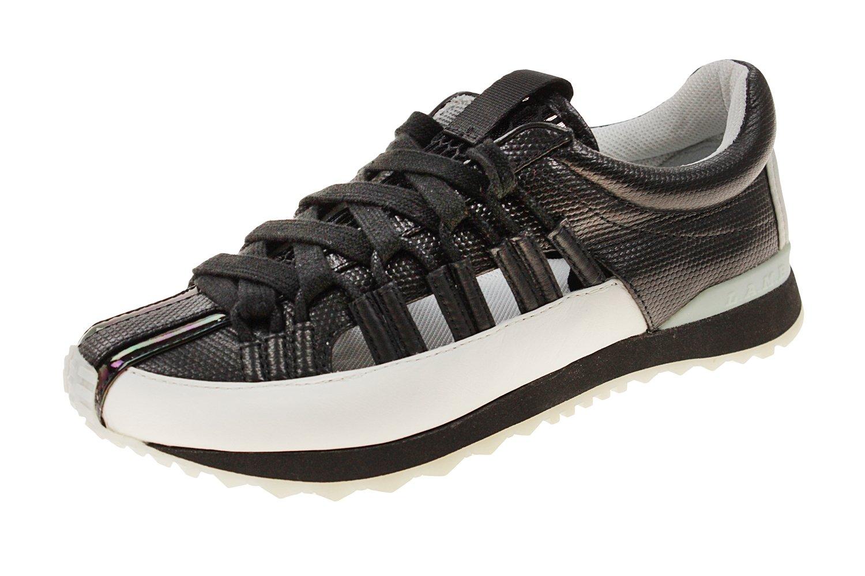 L.A.M.B. Women's Bennie Fashion Sneaker B01D95UY80 9 B(M) US|Black/White