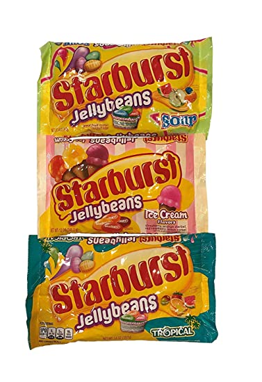 Enjoyable Starburst Jelly Beans Sour Ice Cream And Tropical Variety Pack Squirreltailoven Fun Painted Chair Ideas Images Squirreltailovenorg