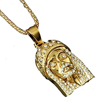 dollar products gold blingblowout pendant grande bling chain sign small