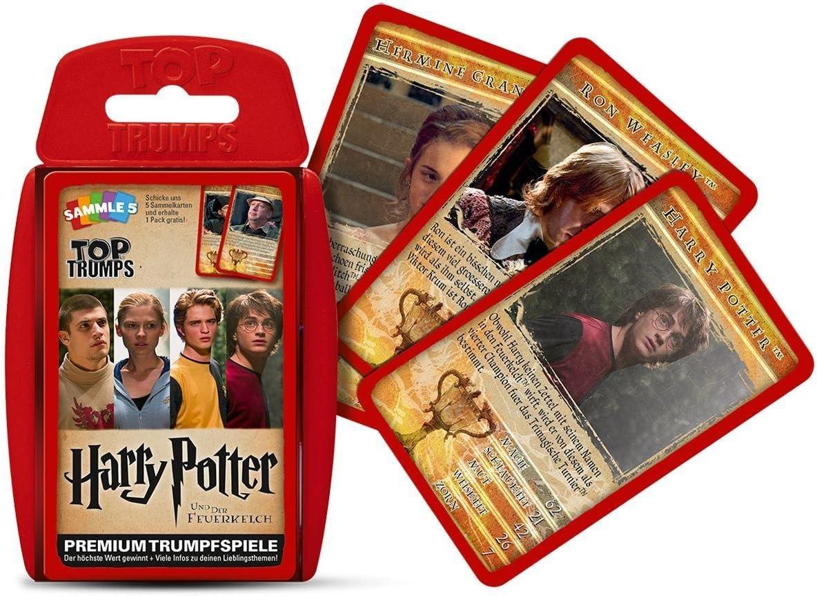 Winning Moves Top Trumps Harry Potter y el Cáliz de Fuego