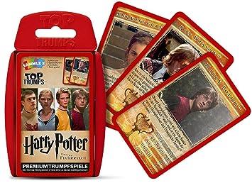 Winning Moves Top Trumps Harry Potter y el Cáliz de Fuego ...