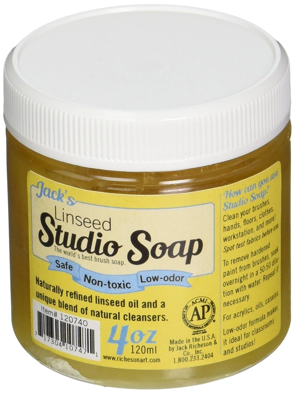 Jack Richeson 120 ml Linseed Studio Soap Jack Richeson & Co. Inc. 120740