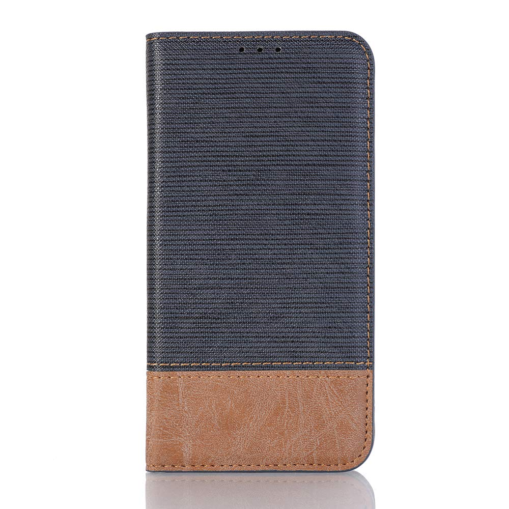 Galaxy S10E Phone Case,MeiLiio PU Leather Folio Flip Cover Wallet Case with Credit Card Holder Slots Money Pocket Cover Vintage Magnetic Sleeve,Dark Blue
