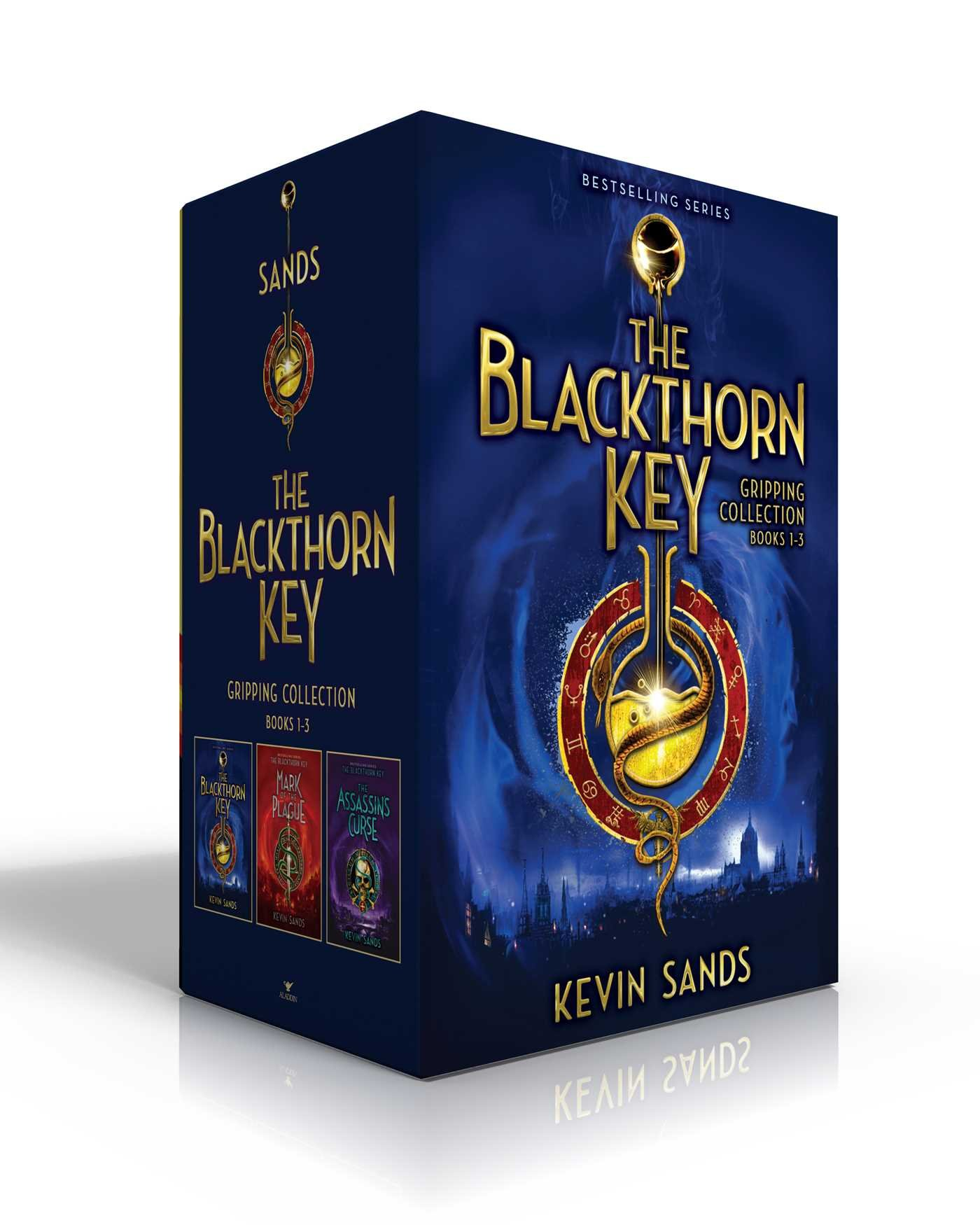 The Blackthorn Key Gripping Collection Books 1-3: The Blackthorn Key; Mark of the Plague; The Assassin's Curse by Aladdin