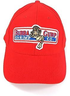 Amazon.com  Bubba Gump Shrimp Red Hat Cap  Sports   Outdoors 18ad6121960