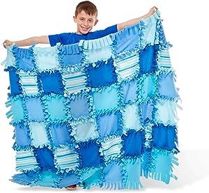 Melissa & Doug Striped Fleece Quilt