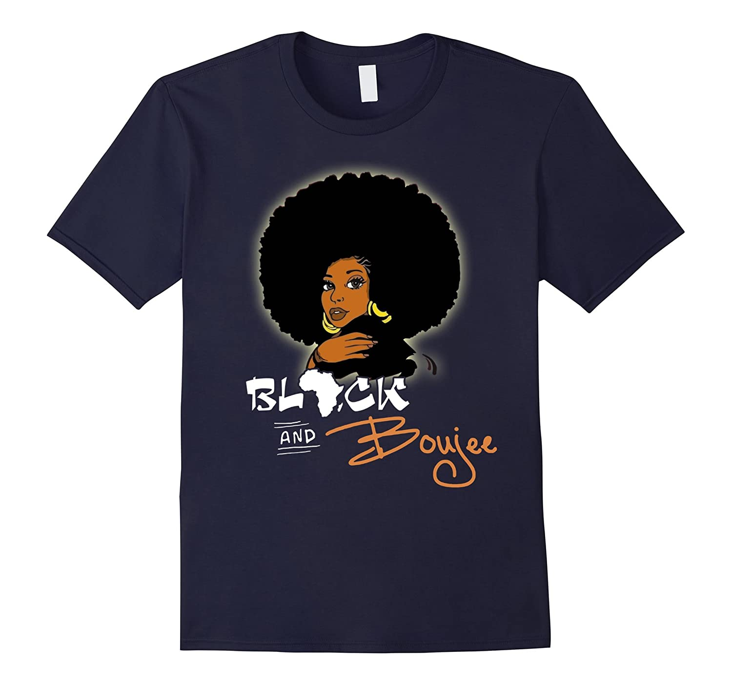 Funny Black and Boujee T-Shirt-RT