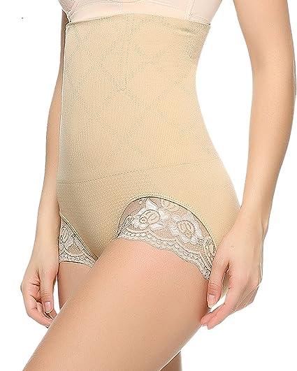777540fb4fa Junlan Antibacterial Comfort Panties Butt Lifter Shapers Hi-Waist Thigh  Slimming (XS S