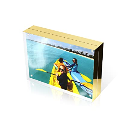 Amazon 4x6 Double Sided Picture Frame Magnetic Clear Acrylic