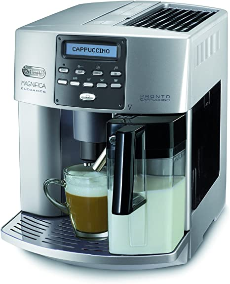 DeLonghi Magnifica ESAM 3600 Independiente Totalmente automática Máquina espresso 1.8L 14tazas Acero inoxidable - Cafetera (Independiente, Máquina espresso, 1,8 L, Molinillo integrado, 1350 W, Acero inoxidable): Amazon.es: Hogar