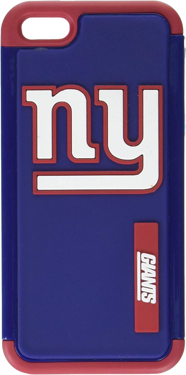Forever Collectibles - (NFL) New York Giants - Dual Hybrid 2-Piece TPU Case for Apple iPhone 5/5s