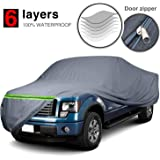Tan EmpireCovers Titan 4-Layer Series Truck Cover Universal Fit for Trucks 241 in H W x 60 in L x 70 in