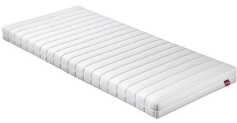 Abeil basique – Colchón Memory Foam Top, poliéster, Blanco, 200 x 90 x