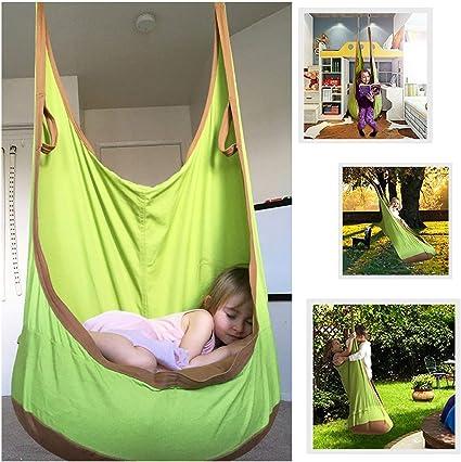 Femor - Hamaca para jardín, acampada, tejido apto para interior y exterior, niño: Amazon.es: Deportes y aire libre