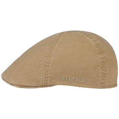 20f0deb4152 Stetson Texas Organic Cotton Flat Cap Men