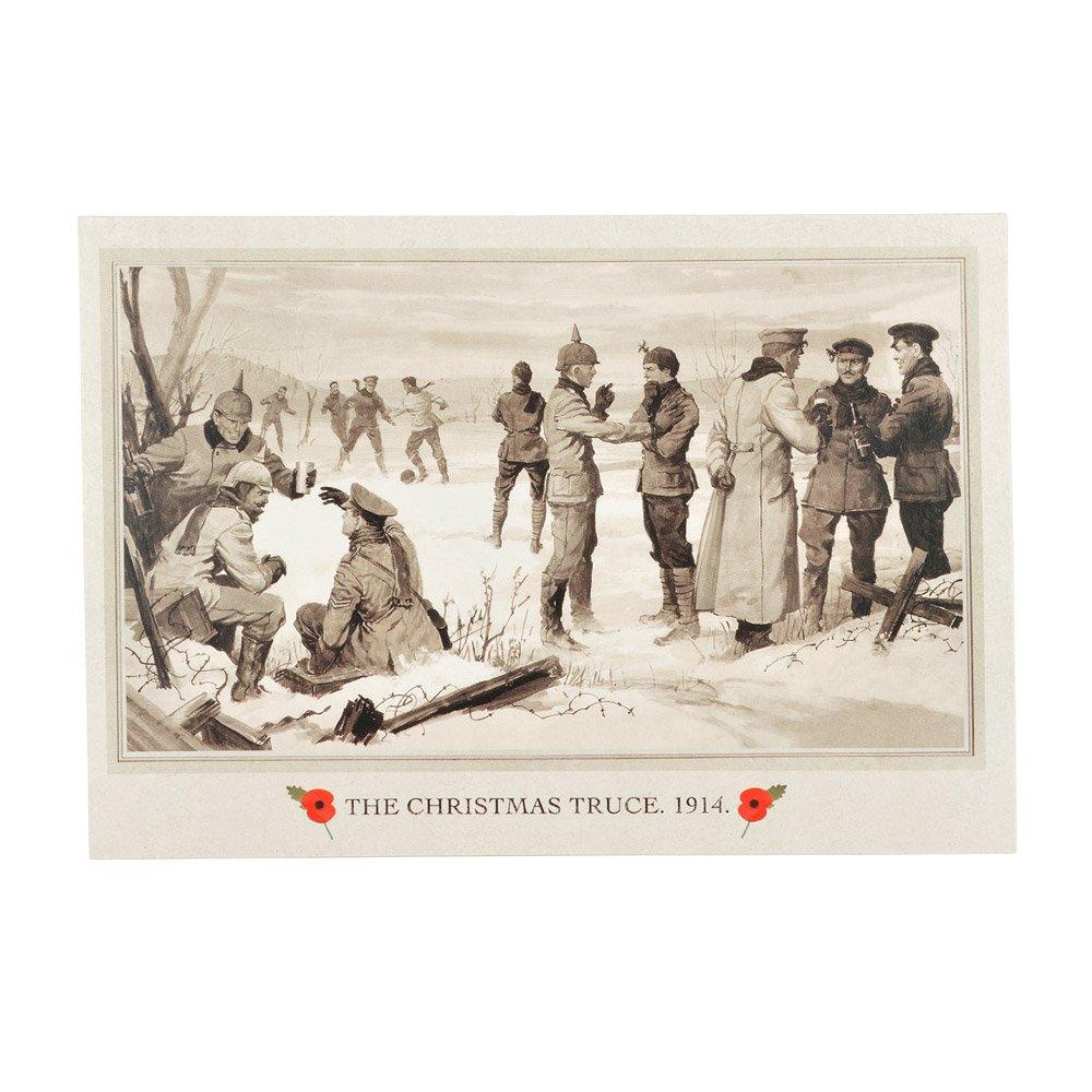 The Royal British Legion The Christmas Truce Christmas Cards: Amazon ...