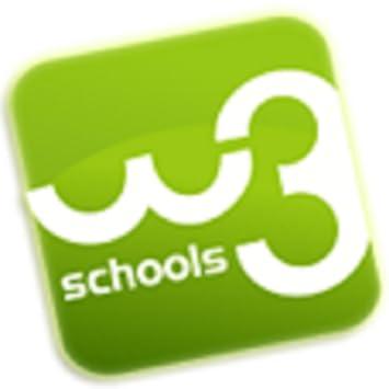 Amazon com: W3Schools Online Web Tutorials: Appstore for Android