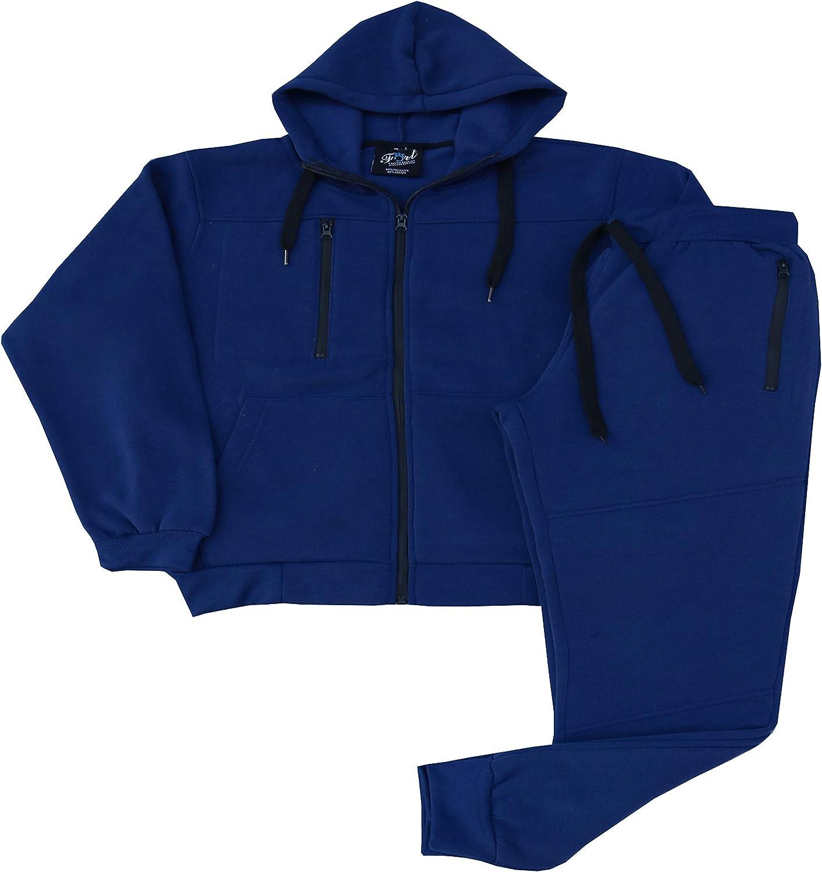 Amazon Com Fort Fashion Men Tech Fleece Jogger Sweat Suit Clothing