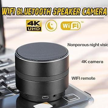 Cámara espía, visión nocturna sin agujero 4K HD Cámara de video de alta definición Cámara