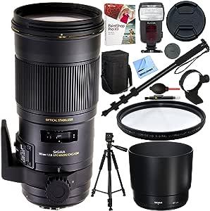 Sigma 180 mm f2.8 EX DG OS HSM APO Macro lente para Canon cámaras ...