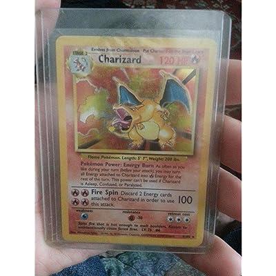 Pokemon - Charizard (4/102) - Base Set - Holo: Toys & Games
