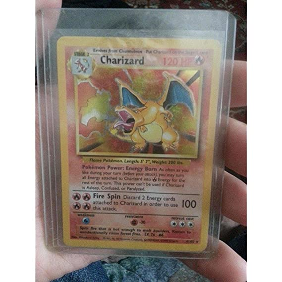 Amazon.com: Pokemon – Charizard (4/102)  ...