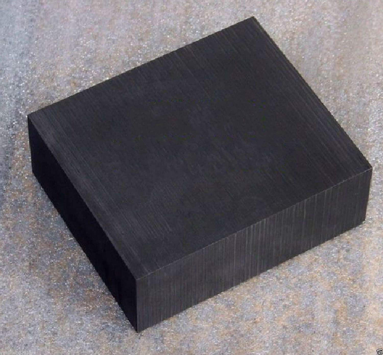 1pcs High Purity 99.9/% Graphite Ingot Block Sheet 100mm x 100mm x 10mm