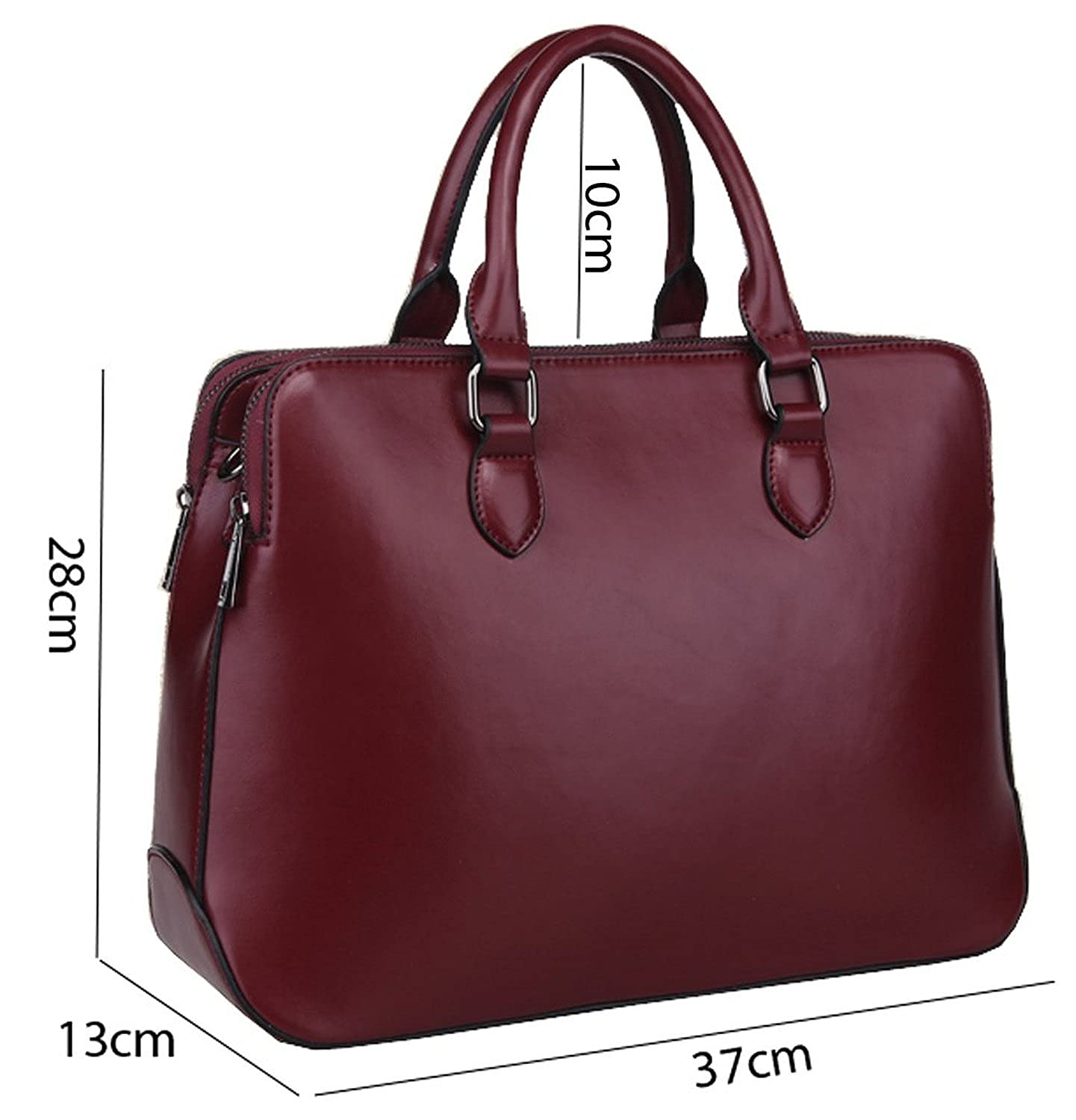 Square cross-section New Style Colnsky Womens Cross Body Bag Handbag Tote Cow Leather