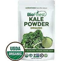 BioFinest Kale Vegetable Powder - 100% Pure Freeze-Dried Antioxidants Superfood - Usda Certified Organic Kosher Vegan…