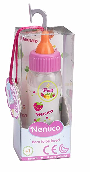 Nenuco - Biberón Mágico Color Rosa, (Famosa 700008160)