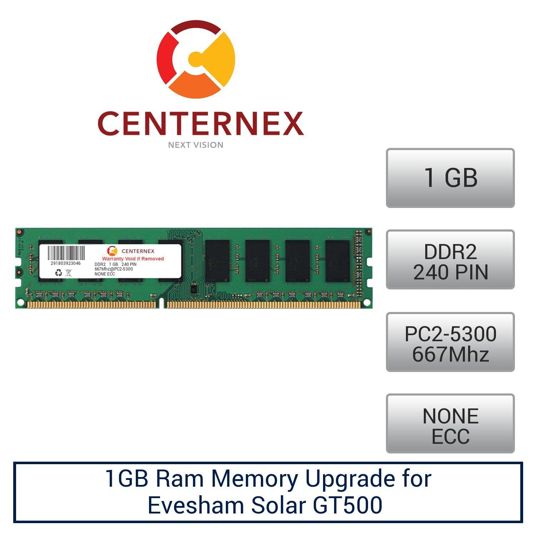 1GB RAM Memory for Evesham Solar GT500 (DDR25300 NonECC) Desktop Memory Upgrade by US Seller