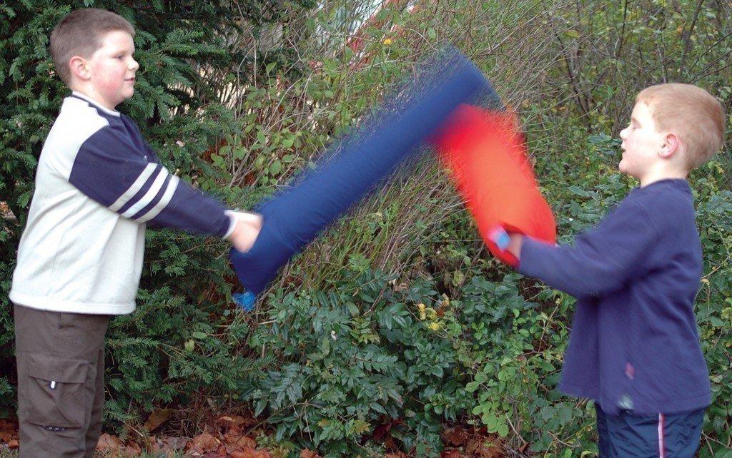 1 x Stück - Necesso Schläger 'groß' - Anti-Aggressions-Schläger für größere Kinder, Jugendliche und Erwachsene!