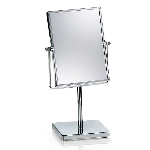 9 opinioni per Kela 21497- Specchio ingranditore da tavolo Felisa, 1x e 3x, forma rettangolare