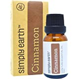 Cinnamon (Leaf) Essential Oil, 100% Pure Therapeutic Grade - 15 ml by Simply Earth