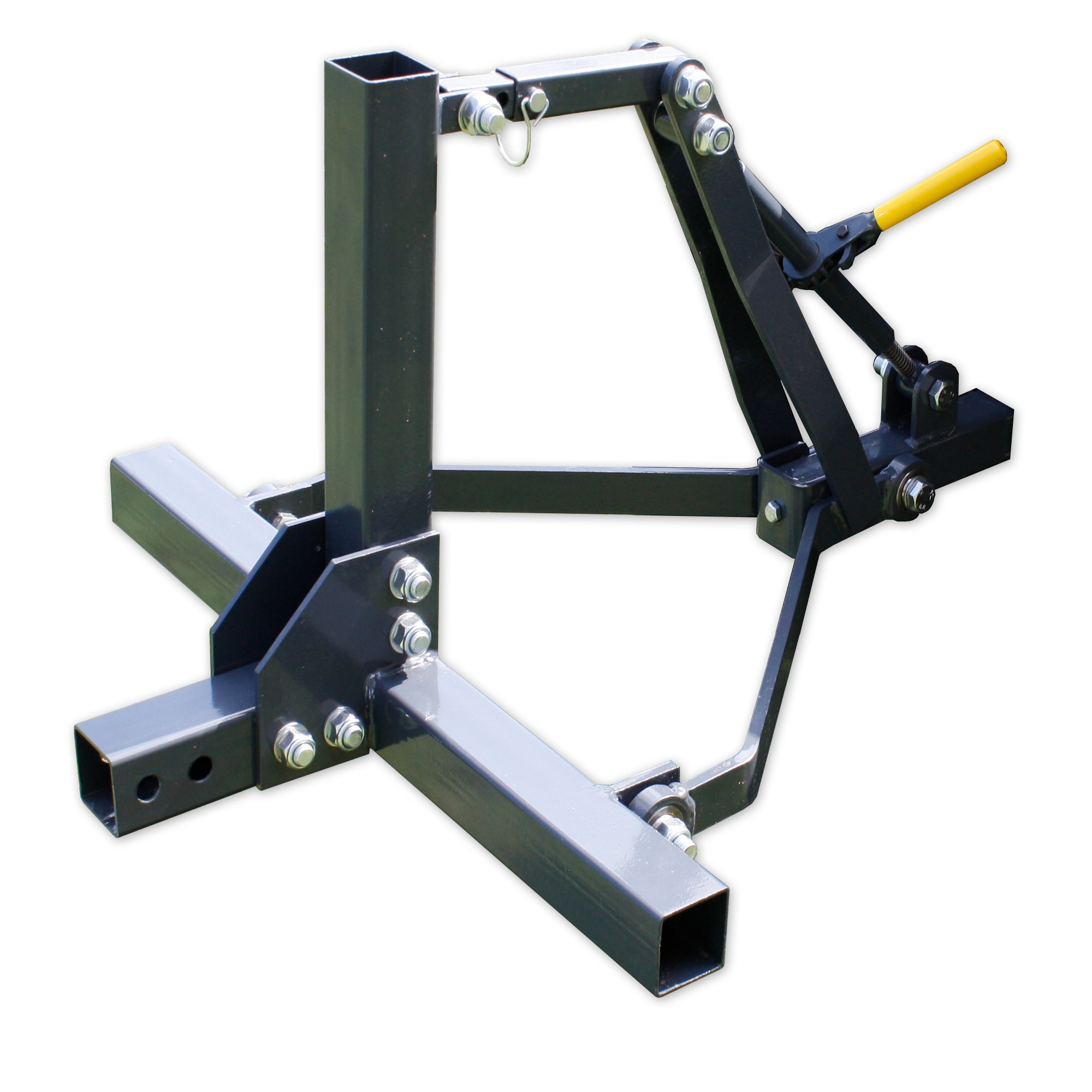 Copper Ridge Outdoors ATV/UTV 3 Point Lift System - ATV Implement Attachment System, Height and Angle Adjustments, Tough Steel Construction, Farming and Food Plot Attachments by Copper Ridge Outdoors
