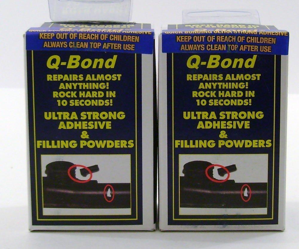 Q Bond Repair Kit Small Quick Bonding Adhesive 2 Pack