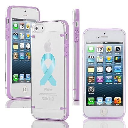 Amazon.com: Apple iPhone 5 y 5S) transparente transparente ...