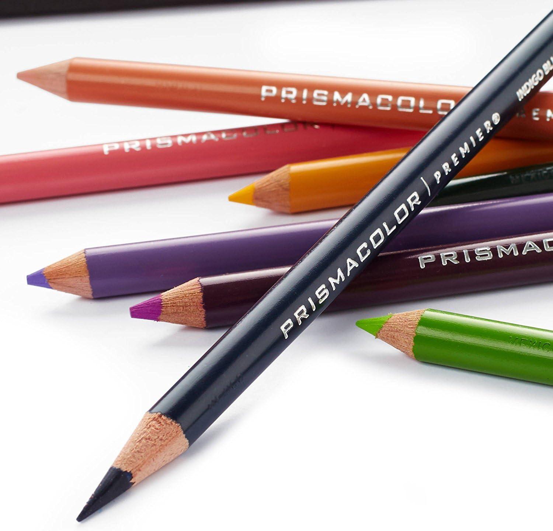 Prismacolor Premier Soft Core Pencils Adult Coloring Book Kit with ...
