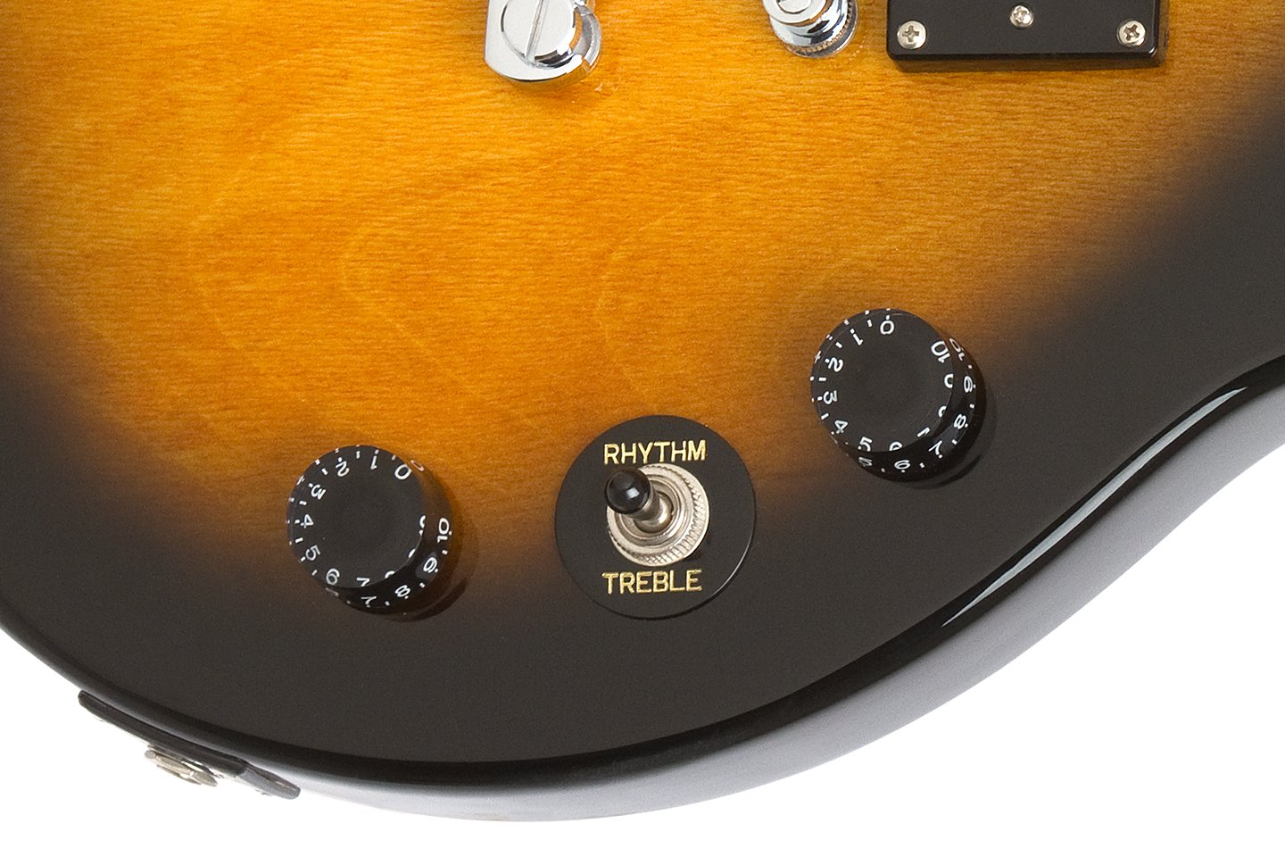 Epiphone Ppeg Egl1vsch1 Les Paul Electric Guitar Player Mini Squire Jack Wiring Package Vintage Sunburst Musical Instruments