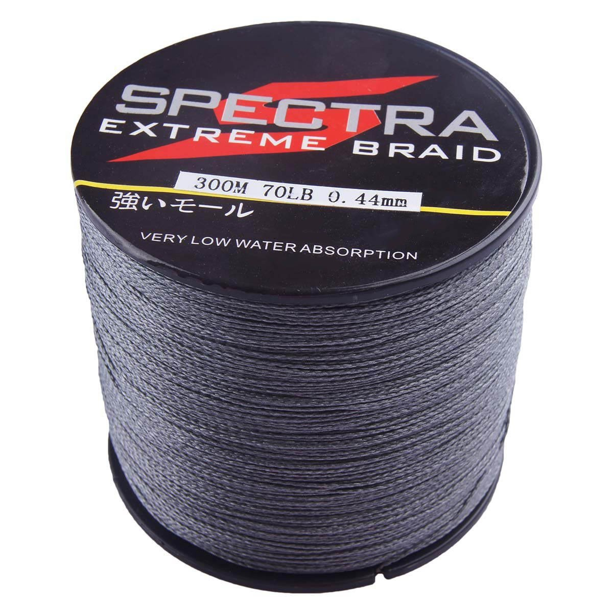 Generic pe spectra dyneema braid fishing line 100m 300m for Spectra fishing line