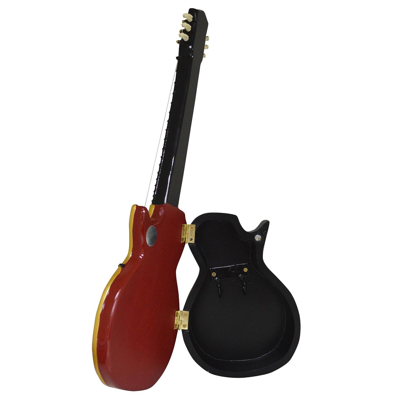 Nuevo Vintage Cherry Sunburst Gibson Les Paul Guitarra Brillante Caja para Llaves (KB10): Amazon.es: Hogar